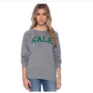 Sub urban riot kale sweatshirt grey green pullover